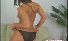 Watch sexy Sandra Romain having fun with her hot panties !