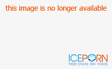 Brutal balls in her opened bottom