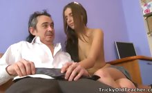 Sexy Katty wanted to fuck with her new teacher.