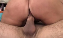 Hot stepmom is a real pro cock sucker